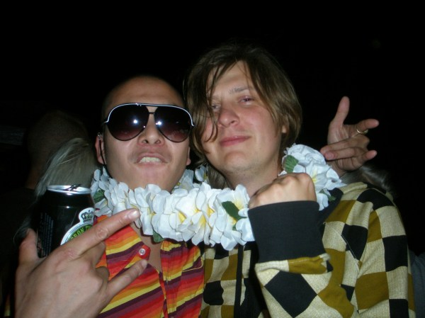 And to end this collection in style: Philip & Kristobal going all in on the summer vibe at an outdoor party on Christiania, July 2008.