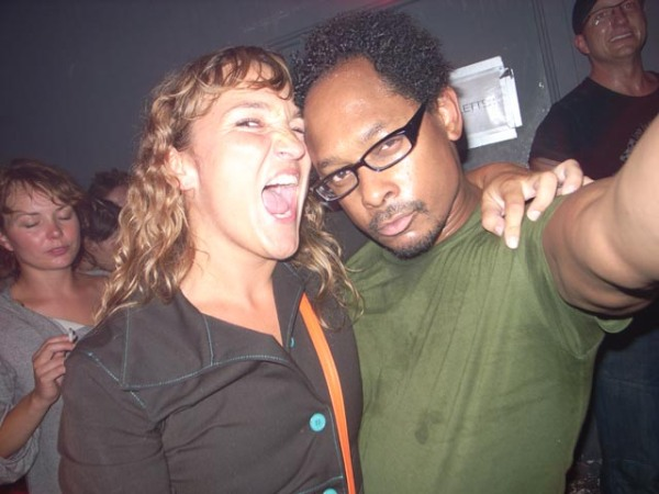 A Junglist pretending to be harmless but, at this very moment, going in for the kill. Derrick May survived. Thanks for this reveling pic, the one and only jonask.