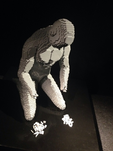 But we pulled ourselves together, slowly rebuilding our stamina. (Okay, so this is from the LEGO exhibition in Shoreditch, and not actually us having falled to pieces. My feet felt a bit like that, though).