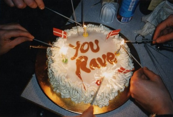 you rave
