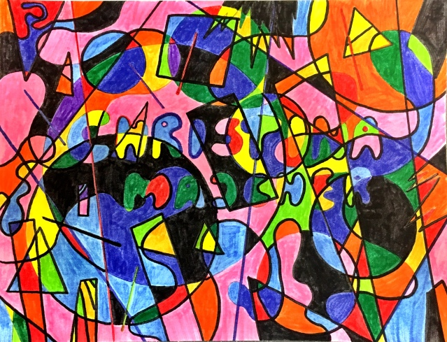 Tegning Christinamajcher 11 år